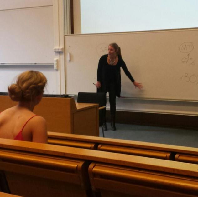 Tina Löfström ALerigo AB föreläser