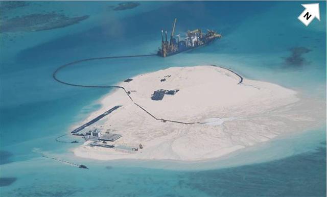 Hình ảnh Hiểm họa khôn lường từ căn cứ quân sự trái phép TQ xây trên đảo Gạc Ma số 2