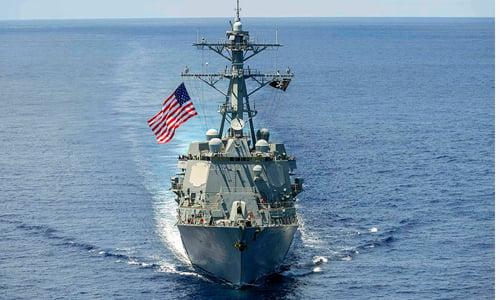 Hình ảnh Mỹ tuần tra Biển Đông, báo Trung Quốc hung hăng đòi chiến tranh số 1