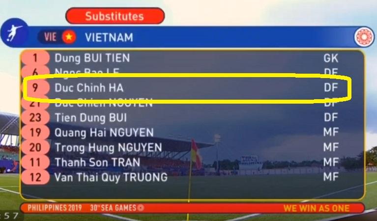 Hà Đức Chinh bị BTC Sea Games 'phũ' dù lập kỷ lục với 5 bàn thắng 2