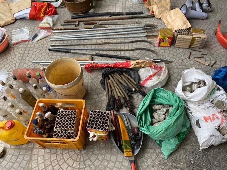 Vụ chống đối ở Đồng Tâm: Lê Đình Kình tử vong vẫn cầm giữ quả lựu đạn 3