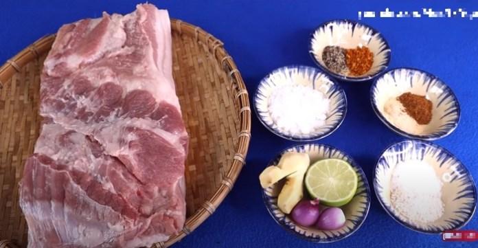 Cách làm thịt heo quay bì giòn tan bằng nồi chiên không dầu 2