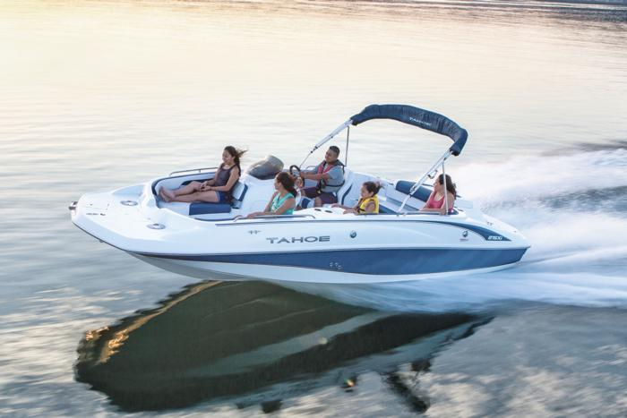 TAHOE Boats  Deck Boats  2018 215 Xi Description