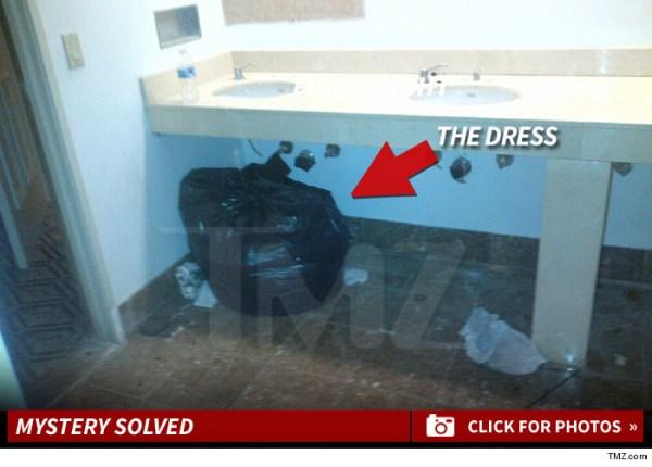 Lupita Nyong39o Dress Returned to Scene of the Crime