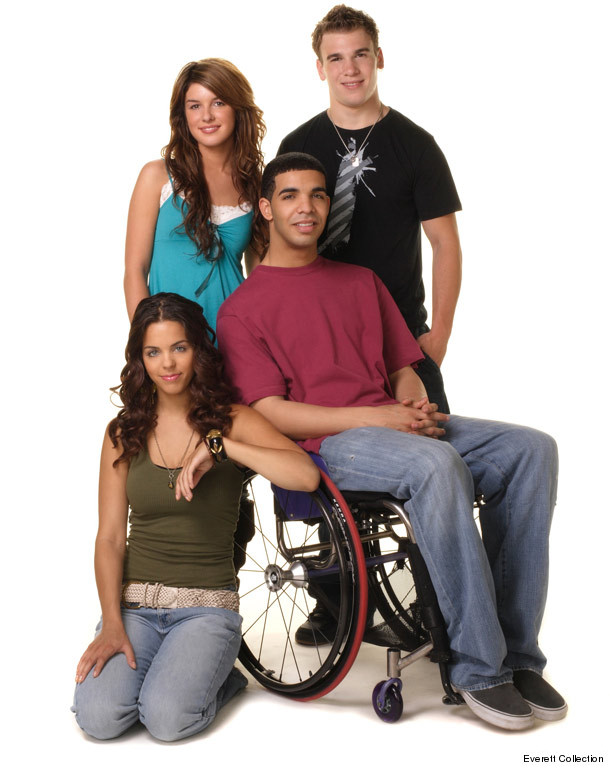wheelchair drake tullsta chair cover ikea canada jimmy returns see s degrassi reunion toofab com 0806 inset