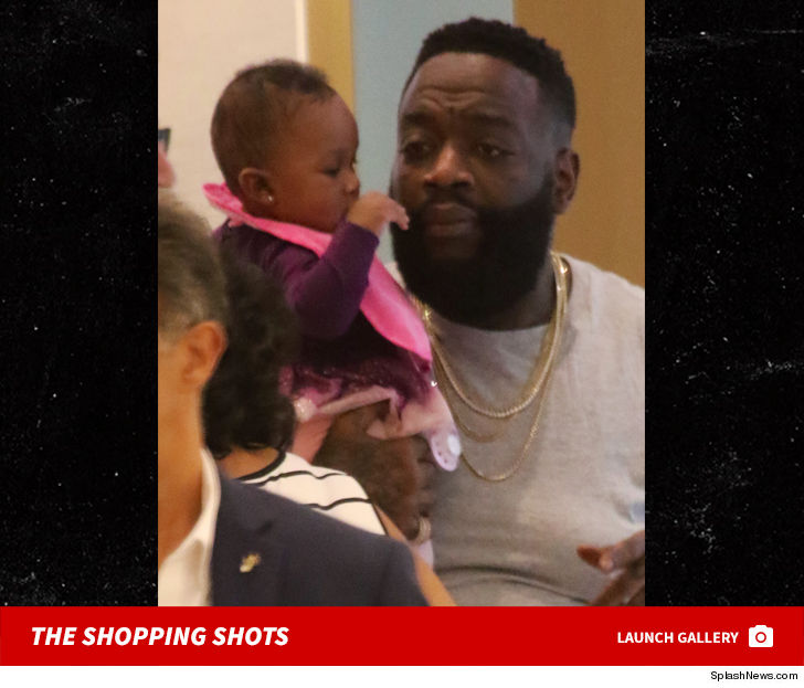 Image result for rick ross and baby girl shopping