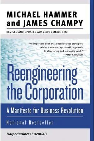 Reengineering the Corporation, Manifesto for Business Revolution, book, Toby Elwin, digital marketing, social media, Michael Hammer, James Champy