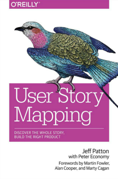user story mapping, agile, design, book, Jeff Patton