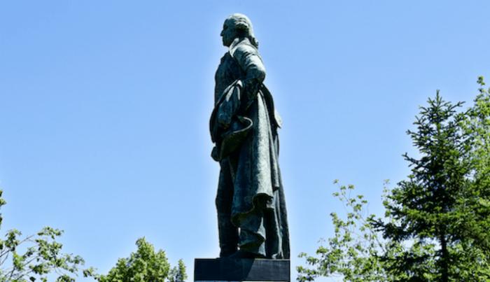 George Washington, statue, leader, leadership