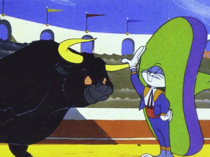 Bugs Bunny, toro, bullfighter, organization development