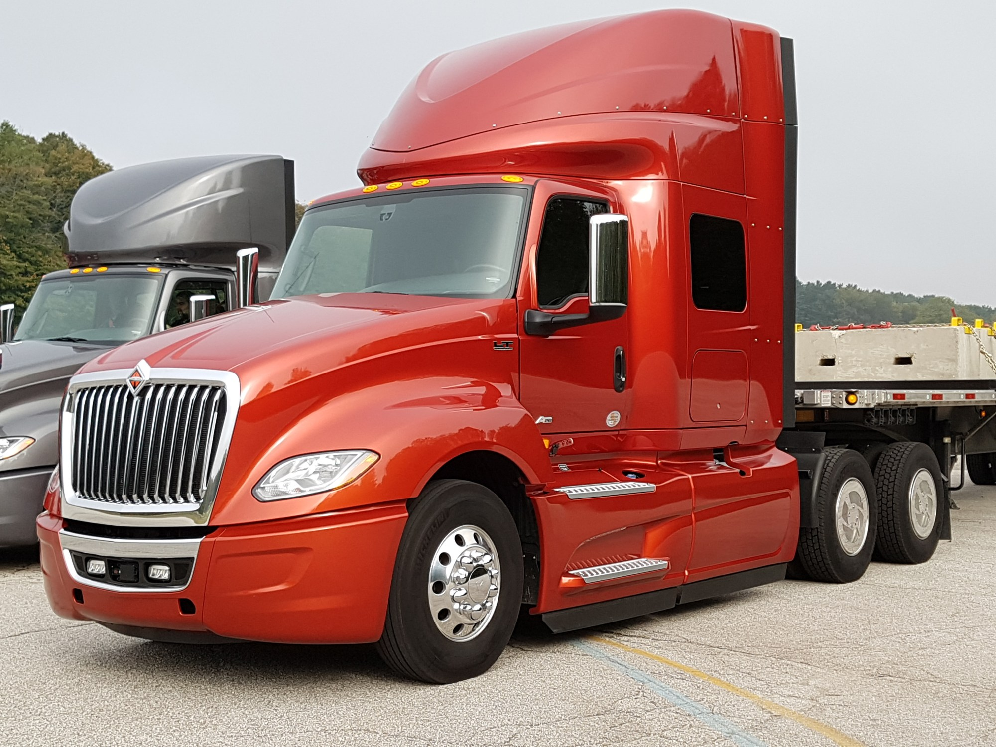 hight resolution of review international s driver centric lt today s truckingtoday s trucking