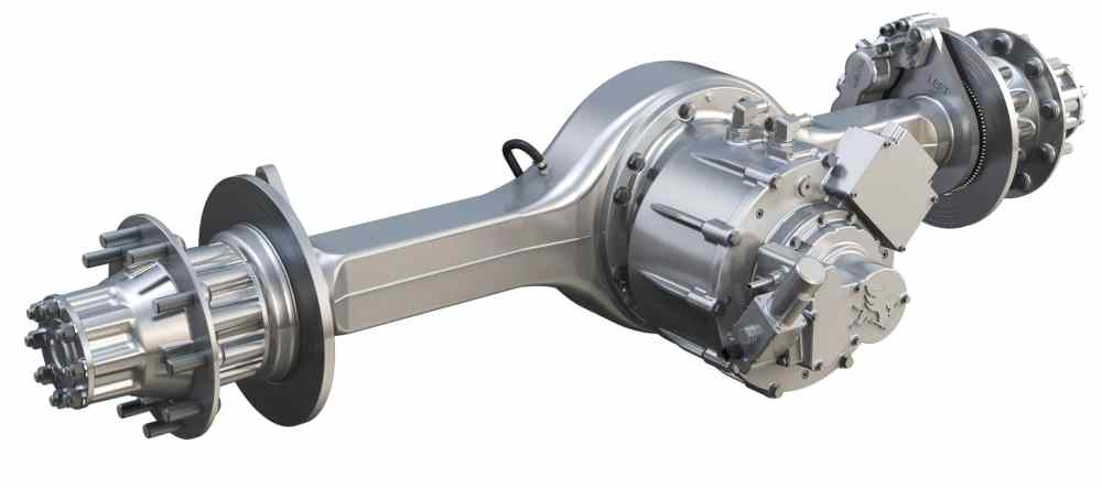 medium resolution of using a traditional axle housing with a motor mounted where the carrier and driveshaft input would normally go is an easy and economical first step toward