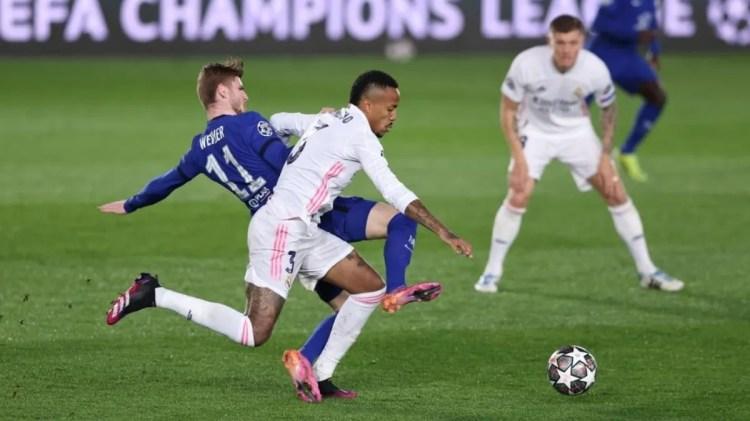 Real Madrid - Chelsea empataron por la ida de la Champions
