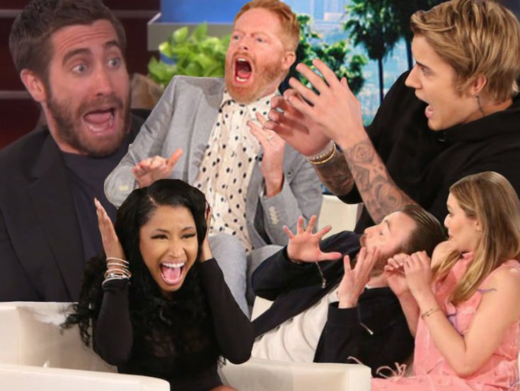 55 Times Ellen DeGeneres Scared the Hell Out of Famous People