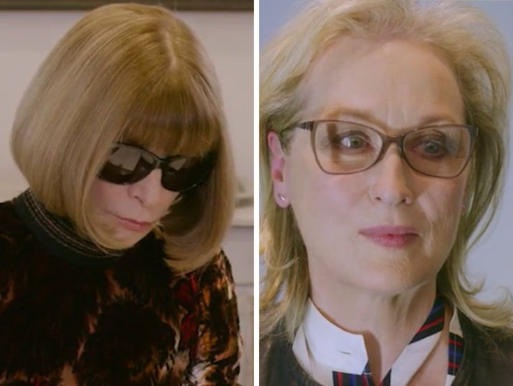 Here's What Happened with Meryl Streep Came Face to Face with the Real Miranda Priestly