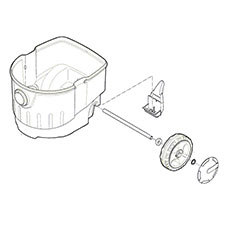Bosch Parts 2610033230 Canister For Bosch tools