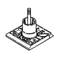 Hitachi Parts 962952Z FRONT BASE For Hitachi planer
