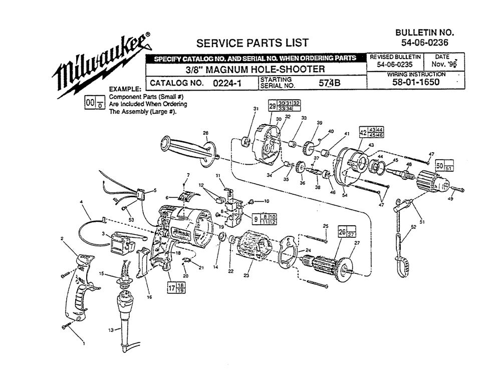 Buy Milwaukee 0224-1-(574B) 3/8