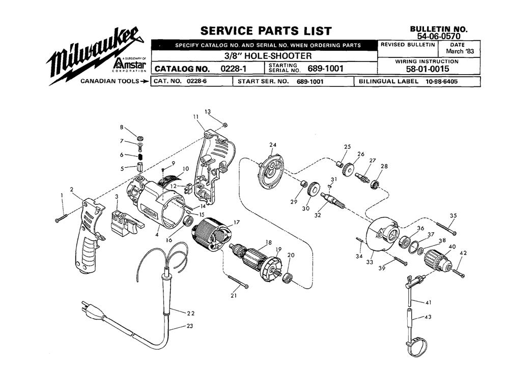 Buy Milwaukee 0228-1-(689-1001) 3/8
