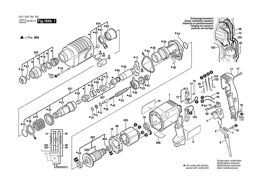 Buy Bosch 11234VSR (0611234739) 3/4