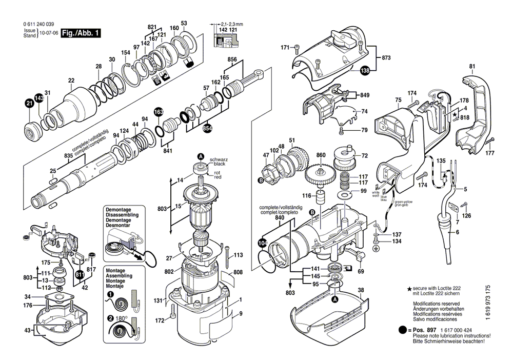 Buy Bosch 11240 SDS-max® Combination Hammer 1-9/16 Inch