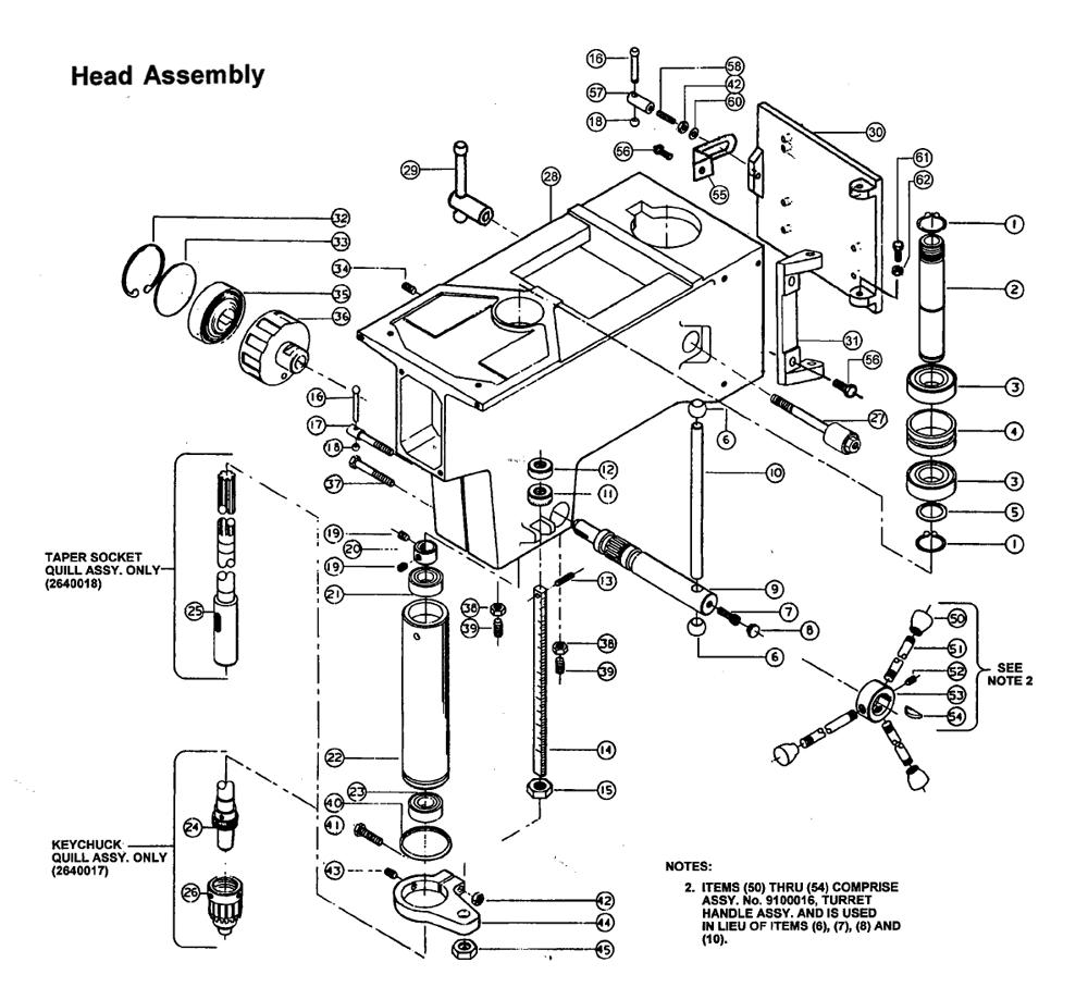 Buy Powermatic 1150A 15In. Drill Press Replacement Tool