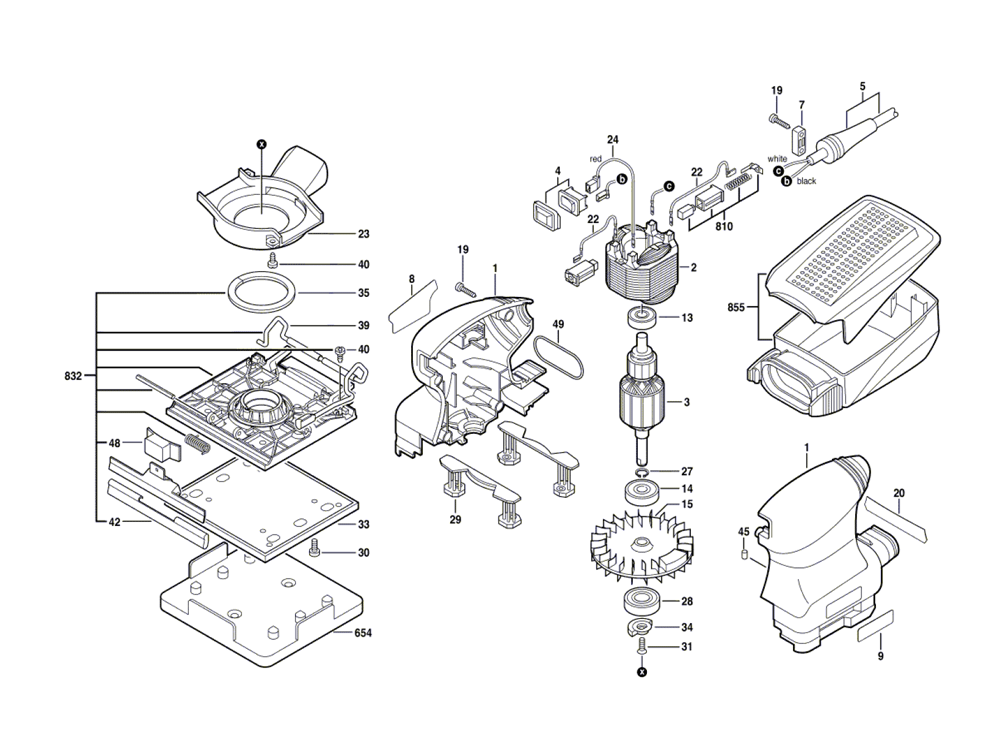 Buy Bosch 1297D-(0601297039) 1/4 Sheet Finishing