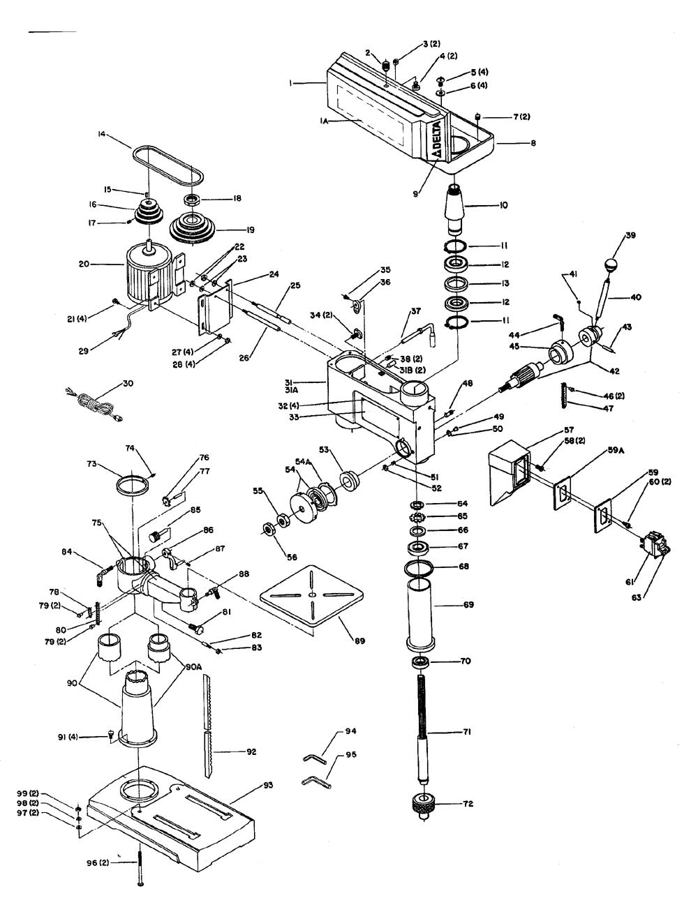 hight resolution of  drill press schematics wiring diagrams cks on drill press cabinet drill press lubrication system