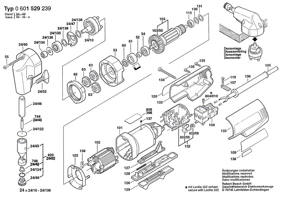 Buy Bosch 1529B 18 Gauge Nibbler Replacement Tool Parts