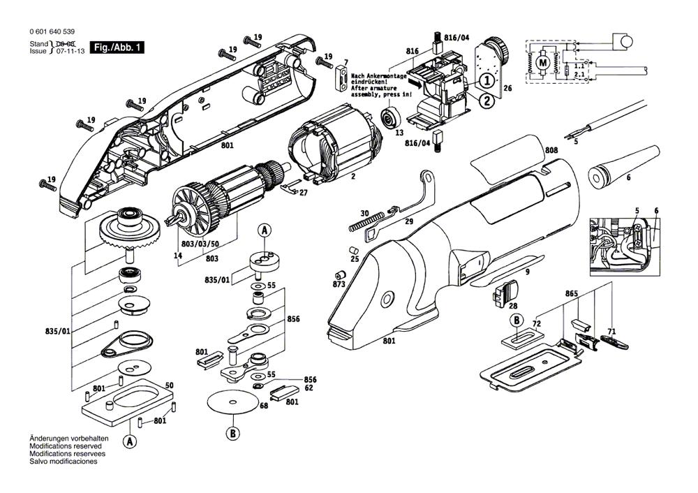 Buy Bosch 1640VS FineCut™ VS Power Handsaw Replacement