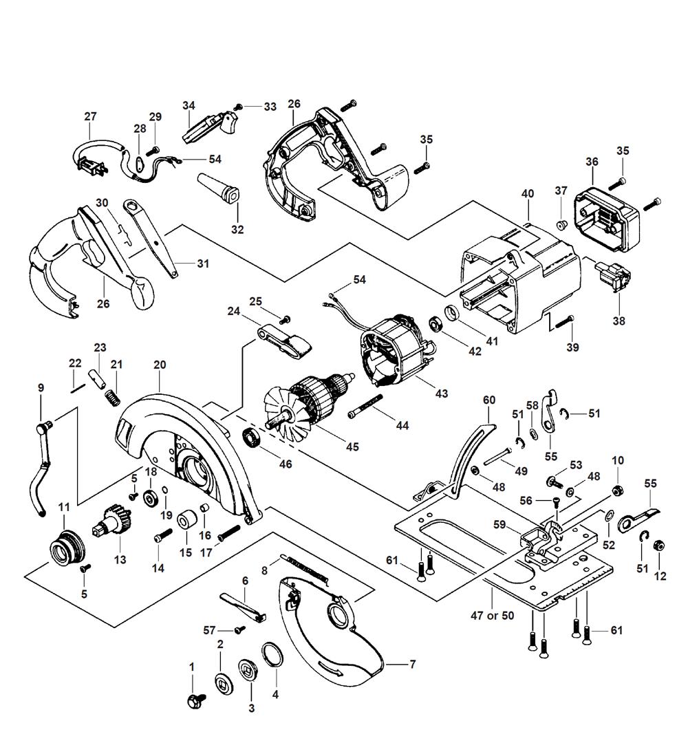 Buy Bosch 1655 (0601655168) 7-1/4