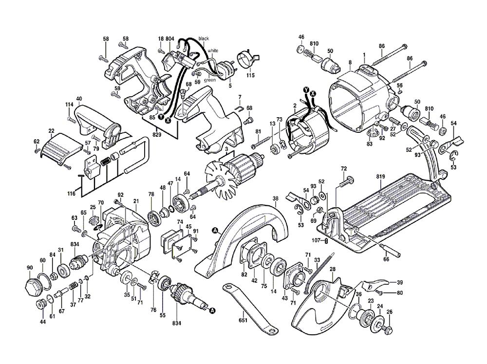 Buy Bosch 1677XC-100-(0601677190) 7-1/4