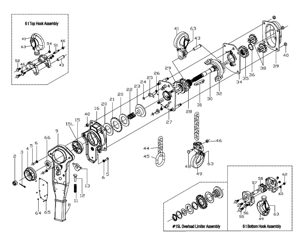 [DIAGRAM] 3 4 Ton Chain Hoist Diagram FULL Version HD