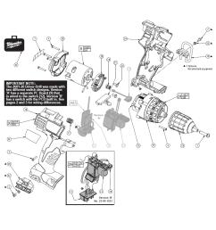 milwaukee 2601 20 parts schematic [ 898 x 914 Pixel ]
