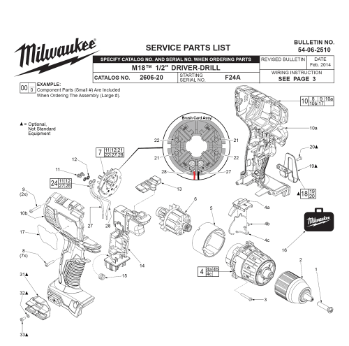 small resolution of milwaukee power drill switch wiring diagrams wiring library way switch wiring diagram buy milwaukee 2606 20