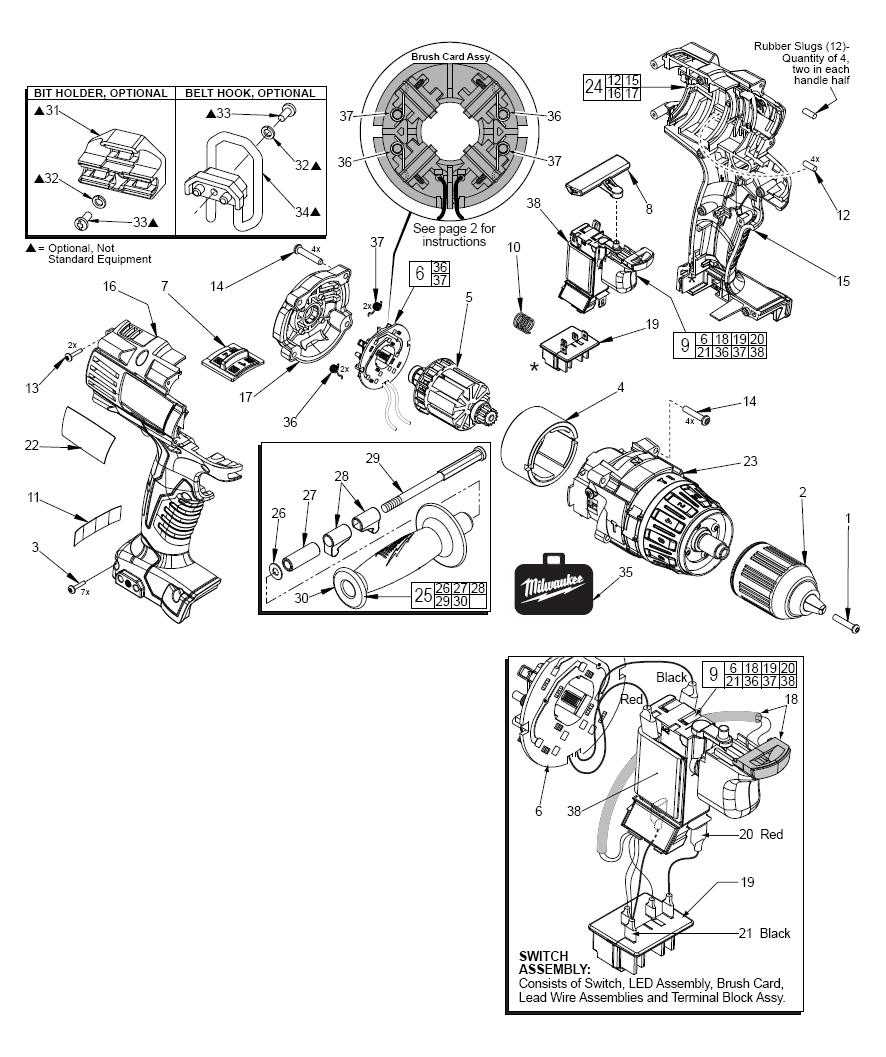 medium resolution of milwaukee sawzall wiring diagram