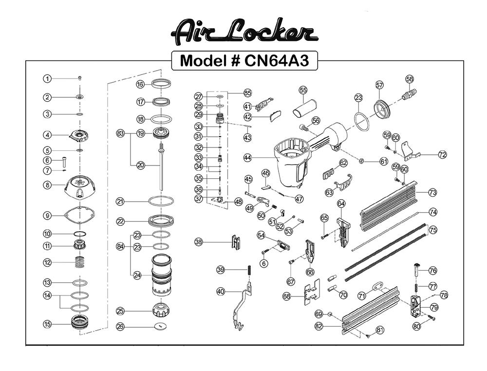 Buy Air Locker CN64A3 5/8