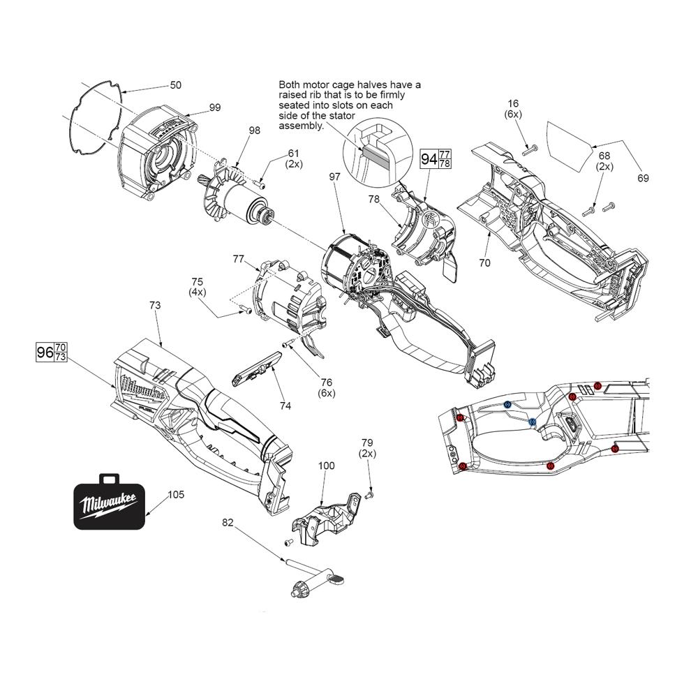 Buy Milwaukee 2709-20-(G60A) M18™ FUEL™ 1/2