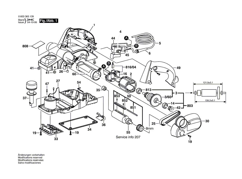 Buy Bosch 3365 (0603365139) 3-1/4