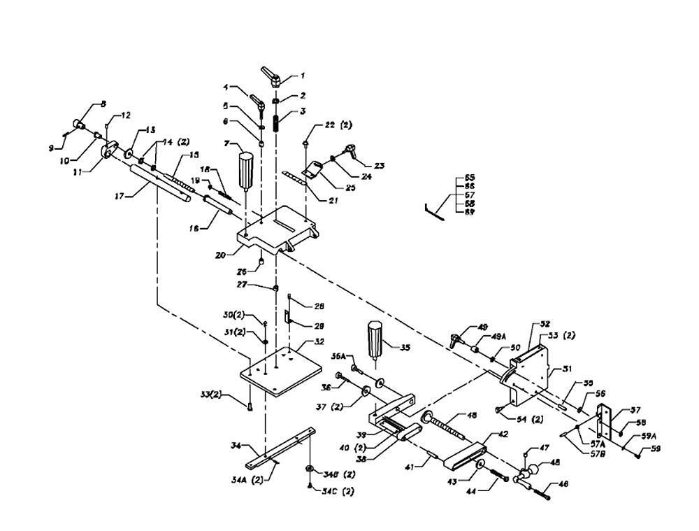 Buy Delta 34-183 Type-1 Tenoning Jig Replacement Tool