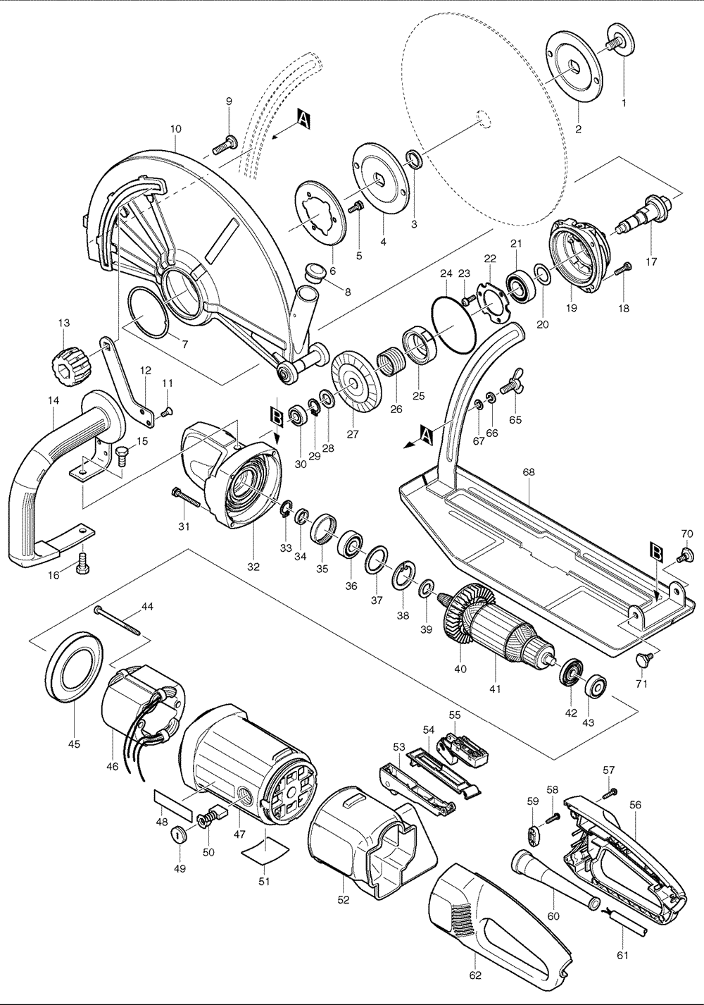 Makita Jr3000v Wiring Diagram Auto Electrical Switch