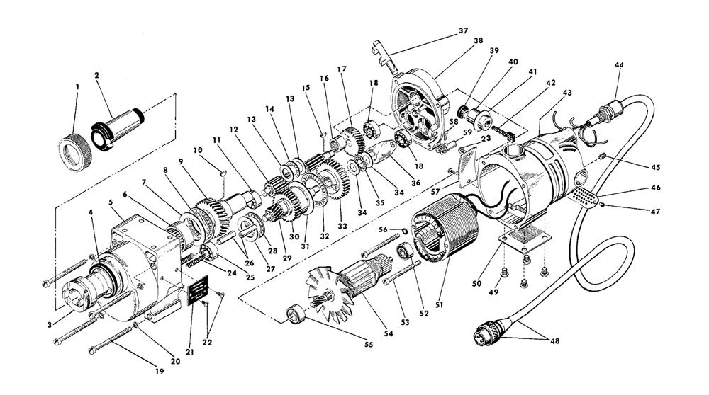 Buy Milwaukee 4297-1-(505-1001) No. 3 MT Motor for