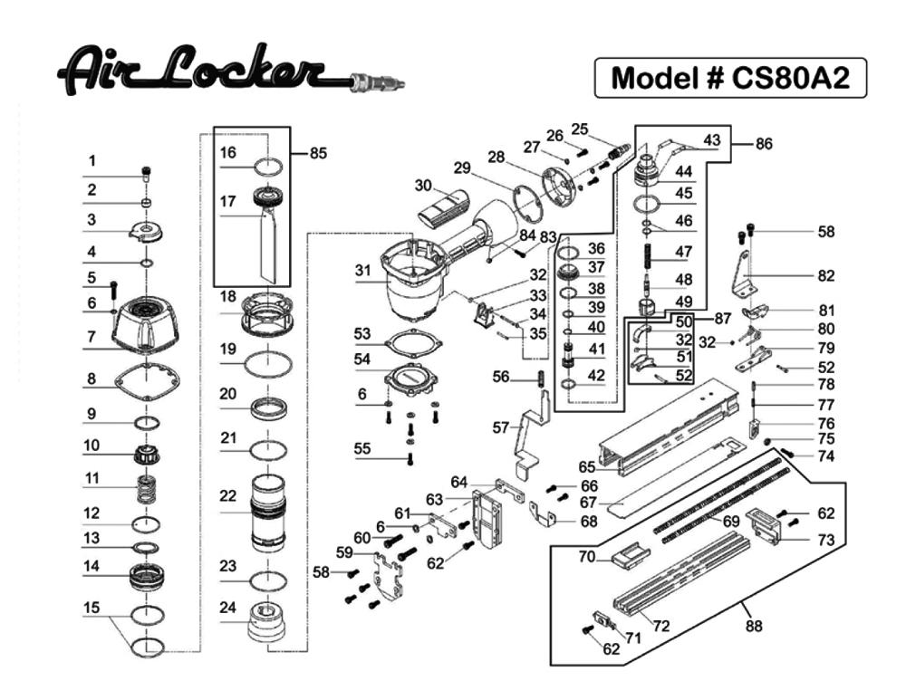 Buy Air Locker CS80A2 3/8 Inch to 5/8 Inch Heavy Duty