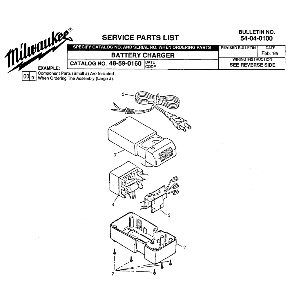 Buy Milwaukee 48-59-0160 battery charger Replacement Tool