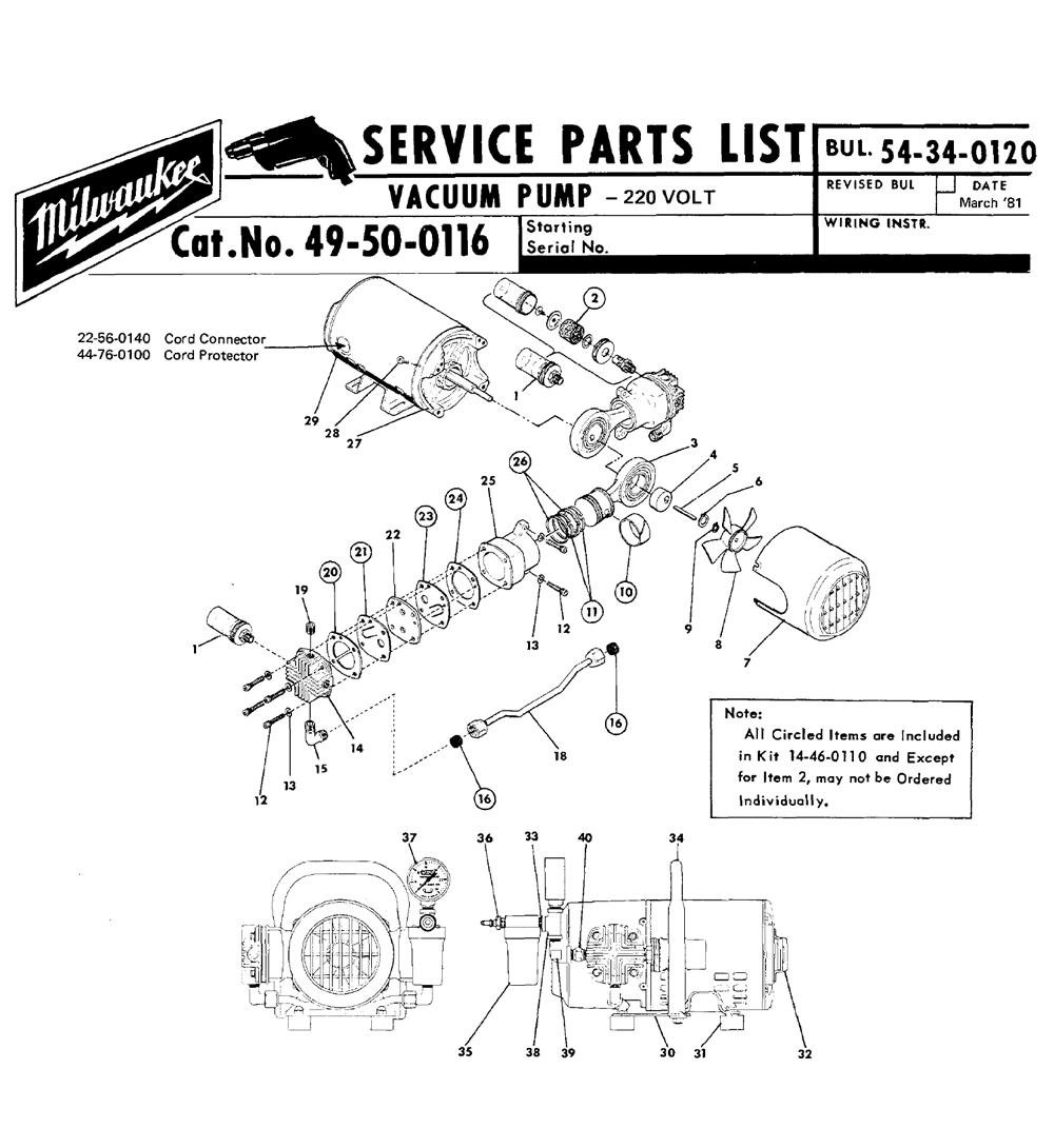 Buy Milwaukee 49-50-0116 vacuum pump Replacement Tool