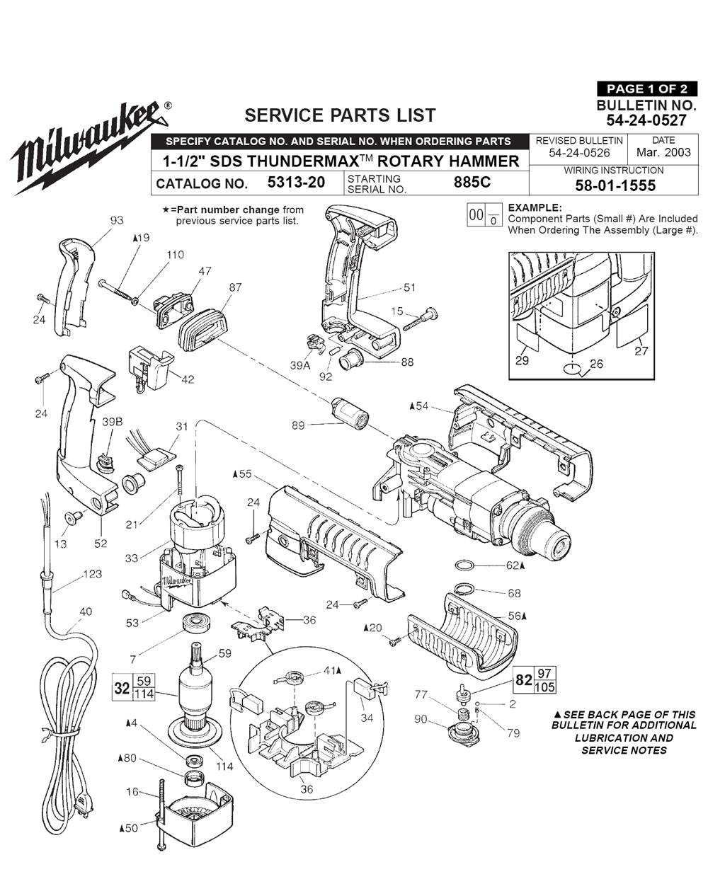 Buy Milwaukee 5313-20-(885C) 1-1/2