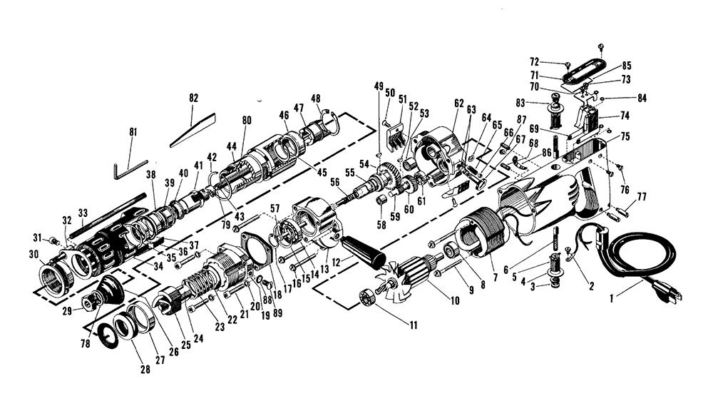 Buy Milwaukee 5350-(389-1001) rotary Replacement Tool