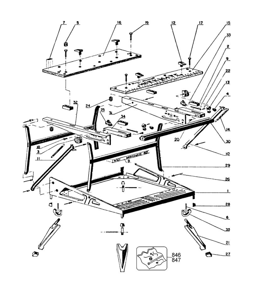 Black And Decker 79 038 Bdk Type 1 Parts Schematic