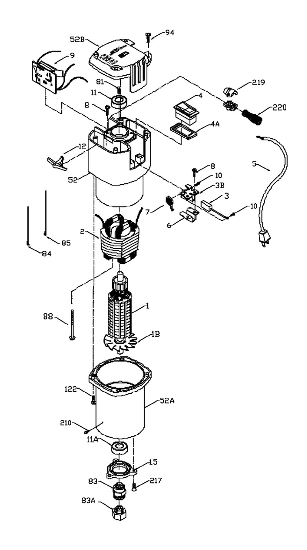 Buy Porter Cable 879879 Type-1 Gerber Scientific Motor
