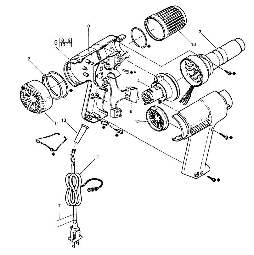 Figure 1 Complete Electric Circuit